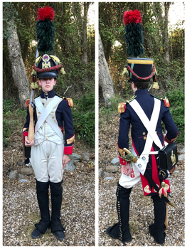 Sergeant-Major, Fusiliers-Chasseurs, Imp. Guard by garde-chiourme