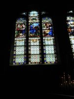 Stained glass window stock by LittleOph
