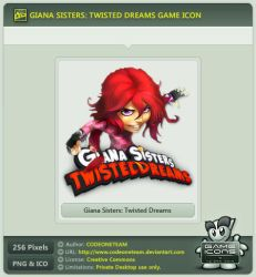 Giana Sisters: Twisted Dreams Icon by CODEONETEAM