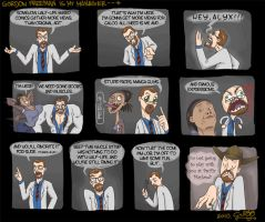 Gordon Freeman is my manager by GalooGameLady