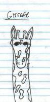 Giraffe Drawing by Busted-Love