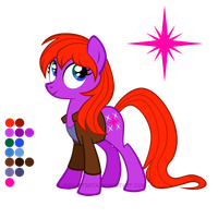 Reference Sheet: Donna Noble by LissyStrata