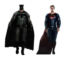 Batman V Superman empire cover png by MessyPandas