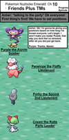 Pokemon Naturelocke Pt.10- Friends Plus TMs by BoomerangX7