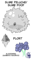 Slime Peluche/Slime Poof by saralibrary
