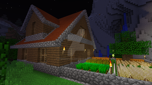 Minecraft - Wooden house 3 by Timidouveg