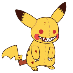 pikachu doll z by sparklingdemon