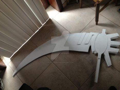 Death scythe with primer by 0lostangel0