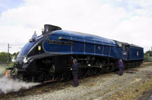 A4 Pacific Sir Nigel Gresley by Deus-est-femina