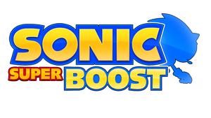 Sonic Super Boost Logo V2 by NuryRush