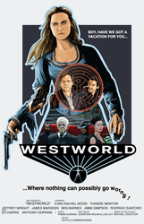 Westworld 2016 Poster by RabidDog008