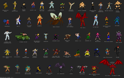 The Marvelous Mark Sprite Coalition by MarvelousMark