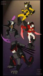 Commission: Transformers by blitterbug