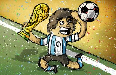 Maradona by pernobassist