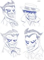 Joker Sketches by clonetrooper66