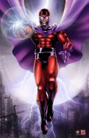 Marvel Magneto by TyrineCarver
