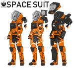 Space Suit by haloowl