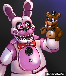 Funtime Bonnie by DominoBear