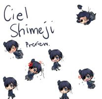 Shimeji - Preview: Ciel by fireflares