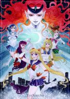 Sailorsenshi Fanart by EyeXcatcher by Eye-X-catcher