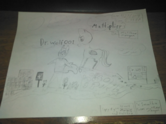 Dr. Wolf001 and Mattiplier by matthew1571571570