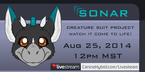 Livestream Announcement: Sonar by CanineHybrid