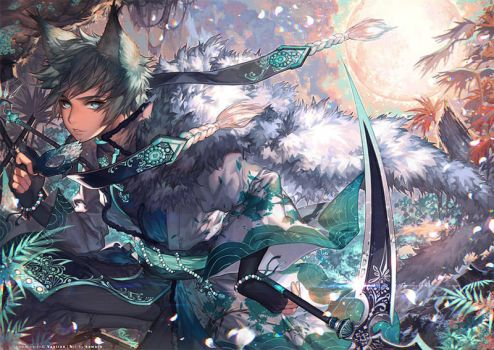 Bright Side of the Moon by kawacy