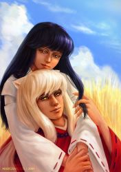 InuYasha and Kagome by Marizano