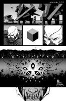The One Minute War: Page E by turbofanatic