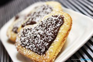 Almond biscuits with Nutella 4 by munchinees