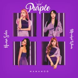 MAMAMOO YES I AM (PURPLE) album cover by LEAlbum