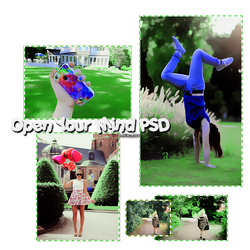 Open Your Mind PSD by Mrsrulos