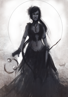 Path of Exile Witch by Sernylo