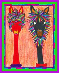 Alpacas for Individuality by DarknessCallsDawn