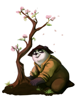 Spring tree by MadAlleyCat