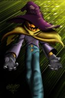 evil scarecrow by chart1989