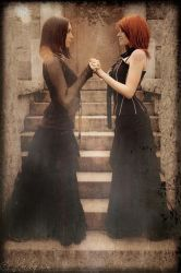Gothic Girls2 by Winged-Creations