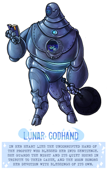 CDC day 9 - Godhand by flatw00ds