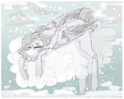 [Sketch]  Snowy Days by HoloRiot