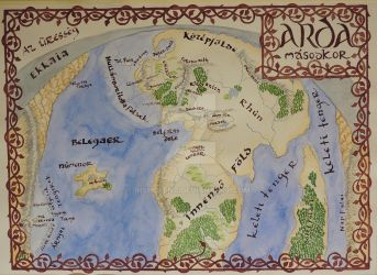 Second Age of Arda by Insholent