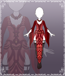 [Close] Adoptable Outfit Auction 114 by Kolmoys