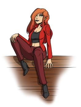 Karen - For Grumpy TG by Canon-Thought