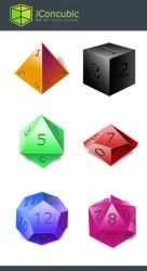 DnD Dice icon Mac OS version by iconcubic