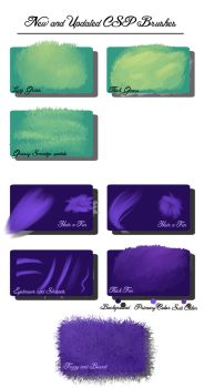 New and updated csp brushes by Yettyen