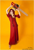 Grell as Ophelia by shua-cosplay