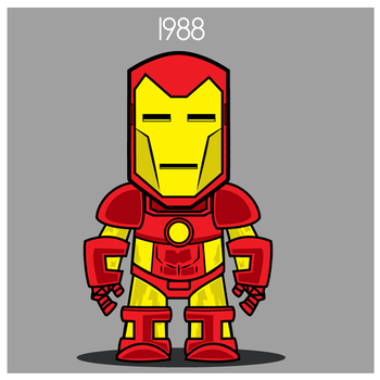 Iron Man  - Neo Classical Armor 1988 by Yeti-Labs