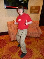 Jake from State Farm Zenkaikon 2014 by bumac