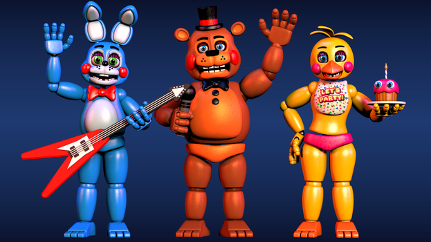 Toys (Wallpaper) by EverythingAnimations