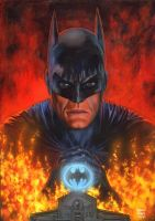 Batman Preacher by GlennFabry