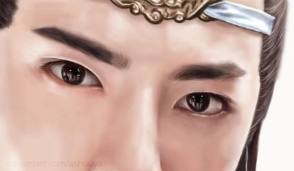 [Wang Yibo]  Lan Wangji  - Eyes by ashuuya